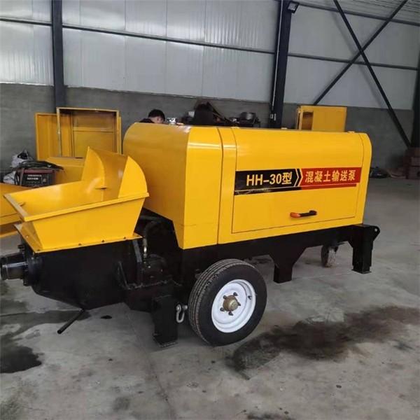 柴油动力混凝土输送泵