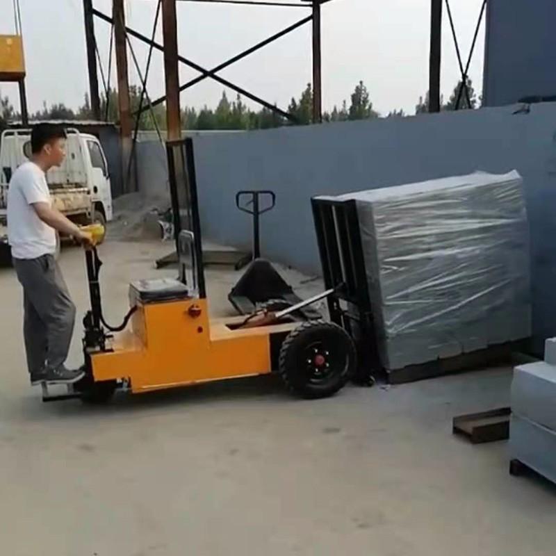 座驾式拉砖车